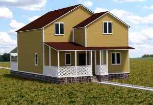 проект деревянного дома